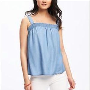 Old Navy • Chambray Tank